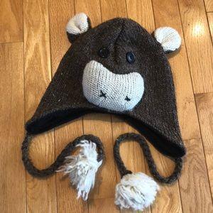 Child's monkey hat 🐒